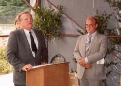 Ansprache durch Bürgermeister von Rehden
